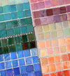 Sicis iridescent glass tile